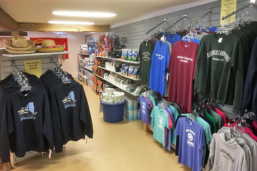 Well Stocked Camping Store